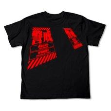 Rebuild of Evangelion Warning Black T-Shirt