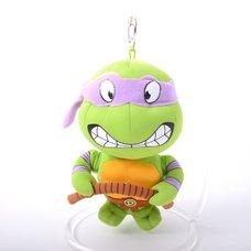 "Teenage Mutant Ninja Turtles 5.5 Donatello Keychain Plush"""
