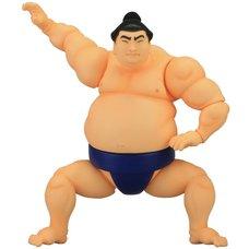 Sofubi Toy Box Sumo Wrestler Rikishi