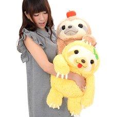 Namakemono no Mikke Nakayoshi Sloth Plush Collection (Big)