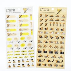 Rilakkuma Factory Stickers