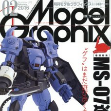 Model Graphix February 2016