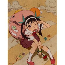 Monogatari Series Heroine Book No. 2 - Mayoi Hachikuji