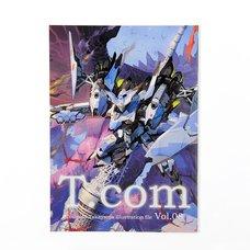 T.com Toshiaki Takayama Illustration File Vol. 08