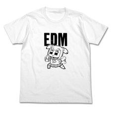 Pop Team Epic EDM White T-Shirt