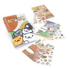 Neko Atsume Nekomori Stickers & Sticker Book