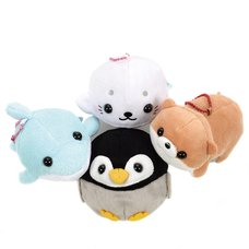 Pocket Aquarium Animal Plush Collection (Ball Chain)