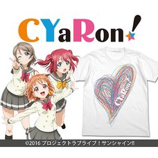 Love Live! Sunshine!! CYaRon! White T-Shirt