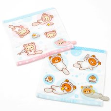 Rilakkuma Kyou mo Pukapuka Dararakko Mini Towels