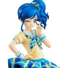 Lucrea Aikatsu! Aoi Kiriya Blue Stage Costume Ver.