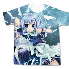 Touhou Project Sakuya Izayoi Touhou Kontonfu Ver. Graphic T-Shirt