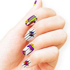 EVA CoordiNail Evangelion-Themed Nails by VlliVlli