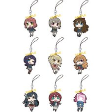 Love Live! Nijigasaki Academy School Idol Club Rubber Strap Collection Box Set