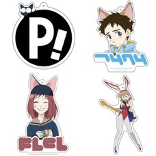 FLCL Acrylic Keychain Collection