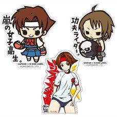 Capcom x B-Side Label Rival Schools Stickers