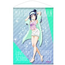 Love Live! Sunshine!! Kanan Matsuura Pajamas Ver. B2-Size Wall Scroll