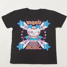 angela Non Stop Music T-Shirt