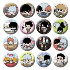 Gintama Button Badge Collection Box Set