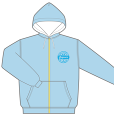 Love Live! Sunshine!! Aqours 5th Love Live! -Next Sparkling!!- Summer Hoodie