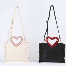 Honey Salon Heart-Shaped Shoulder Bag