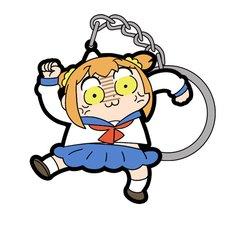 Pop Team Epic Angry Popuko Tsumamare Keychain