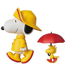 Ultra Detail Figure Peanuts Series 7: Raincoat Snoopy & Woodstock