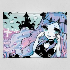 Banshee in a Pastel Gothic World Tapestry