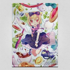 Cat Girl Tapestry