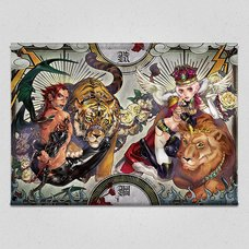 Two Mighty Rivals Tapestry