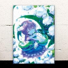 White Bells Acrylic Art Board