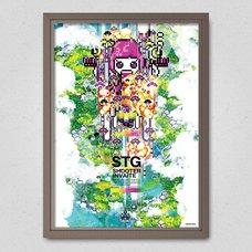 STG Shooter Invaite Poster