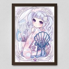Mermaid Kimono Hime Poster