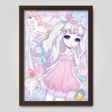 Sakura Unicorn Poster