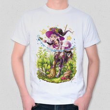 "Illustrated T-Shirt: Jaguar's ""Witch's Garden"""