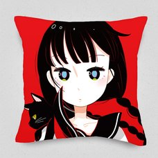 Adolescent Girl Cushion Cover