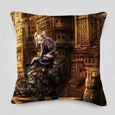 Gray City Cushion Cover