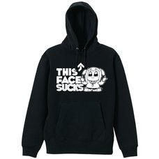 Pop Team Epic This Face Sucks Black Hoodie