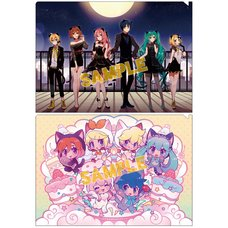 Vocaloid Cat Party Clear File
