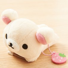 Korilakkuma Plush Badge (Lounging)