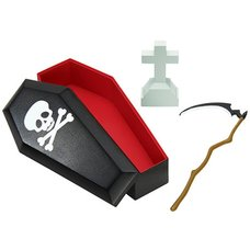 Posable Skeleton Accessory - Grim Reaper Set