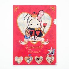 Sentimental Circus Queen of Hearts & Kimagure Alice Clear File