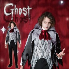 Ghost Count Dracula Costume Set