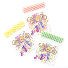 Magic Circle Girl Holographic Stickers