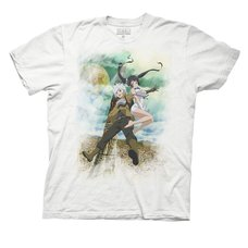 Is It Wrong to Try to Pick Up Girls in a Dungeon? Bell-kun Key Art Adult T-Shirt