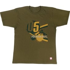 EVA STORE TOKYO-01 Original Eva Colle Provisional Unit-05 T-Shirt