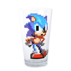 Sonic 8-Bit Pint Glass