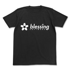Saekano: How to Raise a Boring Girlfriend Flat Blessing Software Black T-Shirt