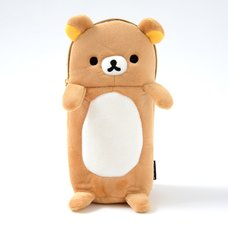 Rilakkuma Fuwaraku Plush Pen Case