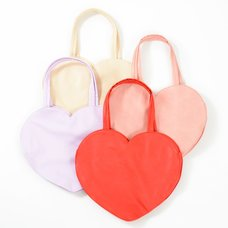 FLAPPER Heart Tote Bags