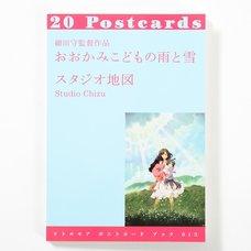 Little More Postcard Book Series Mamoru Hosoda's Film Wolf Children
